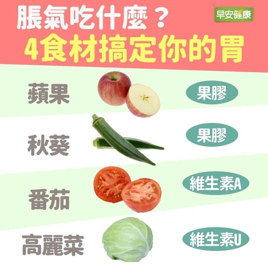 脹氣吃什么麼 4食材搞定你的胃 Health Food Health Knowledge Health