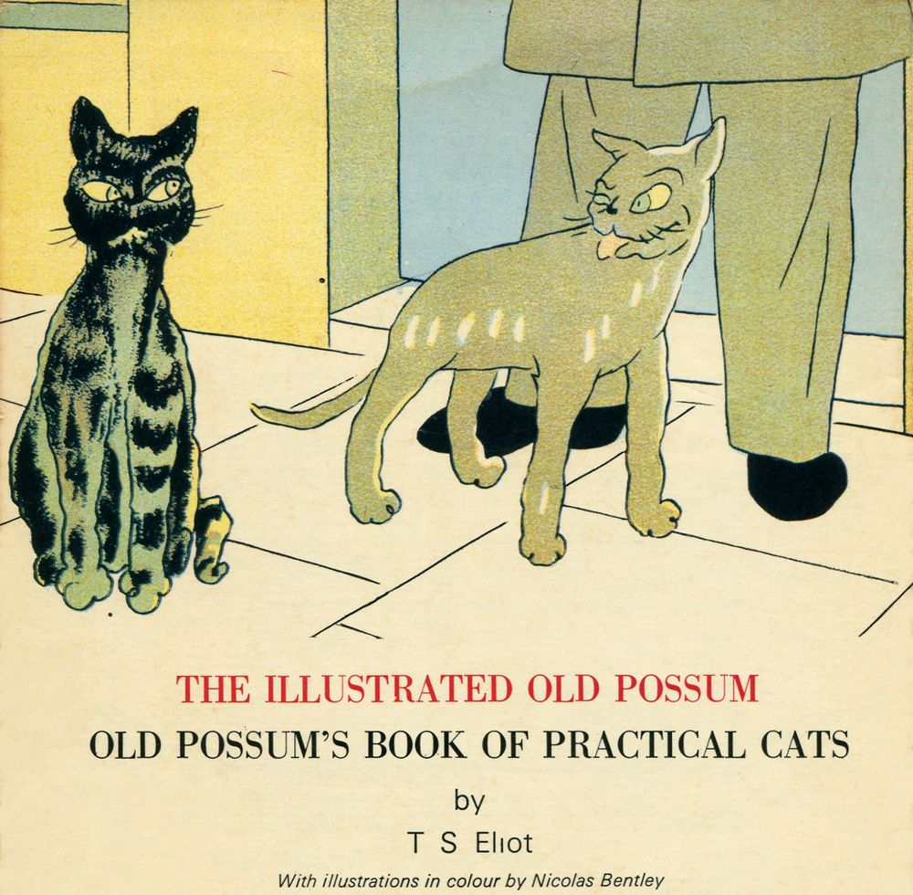 The Illustrated Old Possum Old Possum S Book Of Practical Cats By T S Eliot With Illustrations In Colour By Nicolas Ben Beloved Book Cute Illustration Z Book