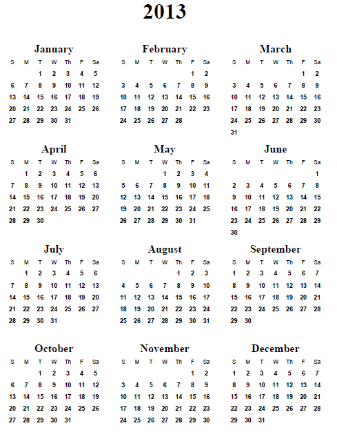Free printable calendars and planners 2019, 2020 and 2021.