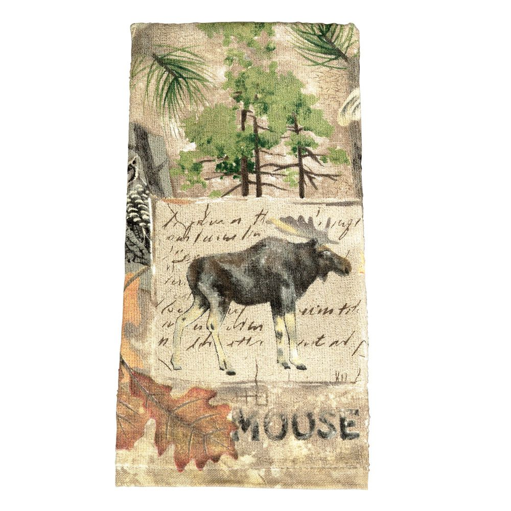 Wilderness Moose Terry Kitchen Towel | Kitchen Ideas | Pinterest ...