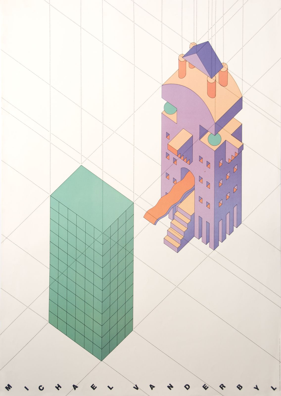 100 Years Of Design Aiga Architecture Poster Postmodernism Architecture Illustration