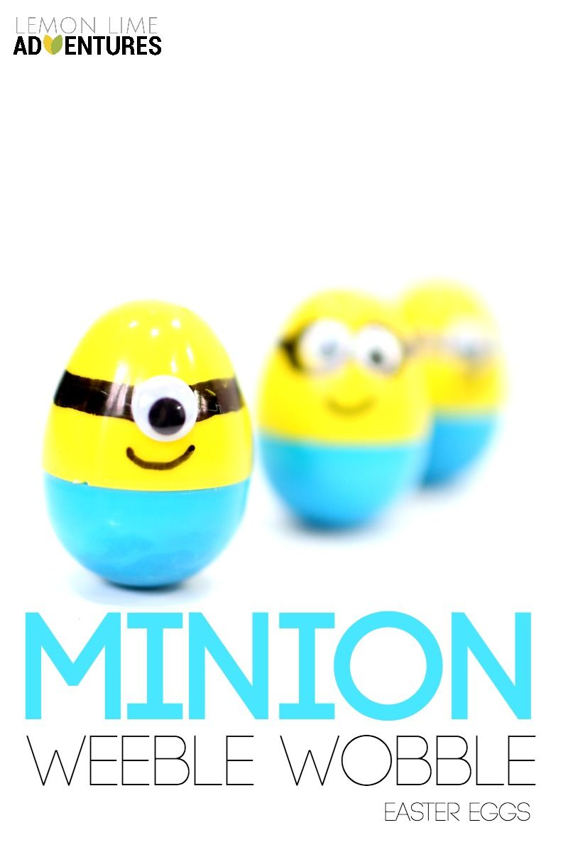 Minion Weeble Wobble Easter Eggs