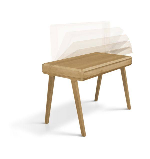 Cool Craftmanship Wooden Table Minimalist Desk Solid Wood Furniture