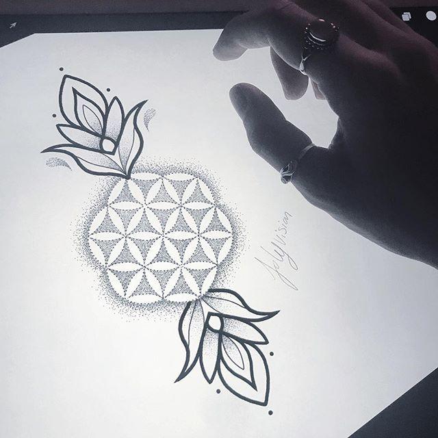 26+ Tatouage fleur de vie femme ideas in 2021