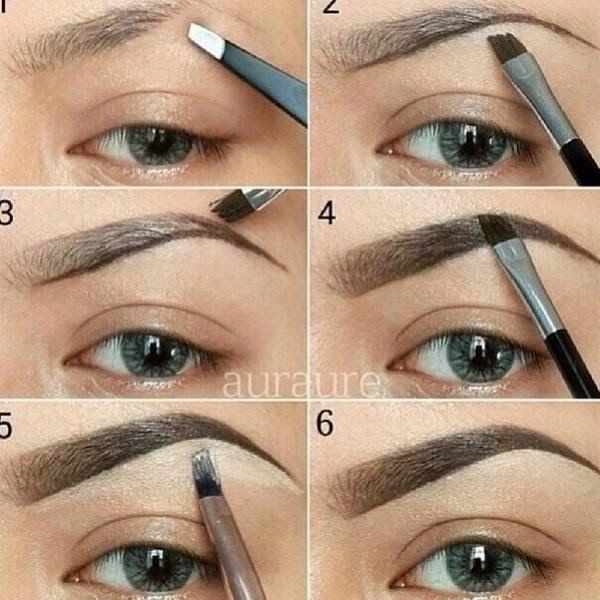 Cómo depilar y maquillar las cejas según tu tipo de rostro La ceja - Tipos De Cejas