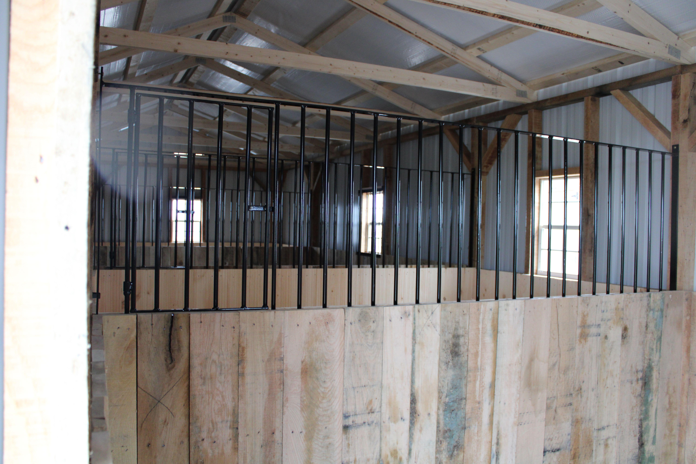 Horse Stalls KT Custom Barns in 2020 | Barn stalls, Horse ...