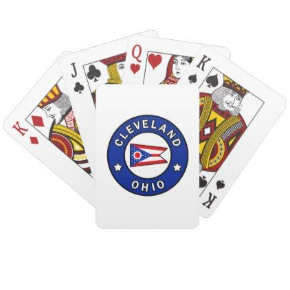 Cleveland Ohio Playing Cards Zazzle Cape Town