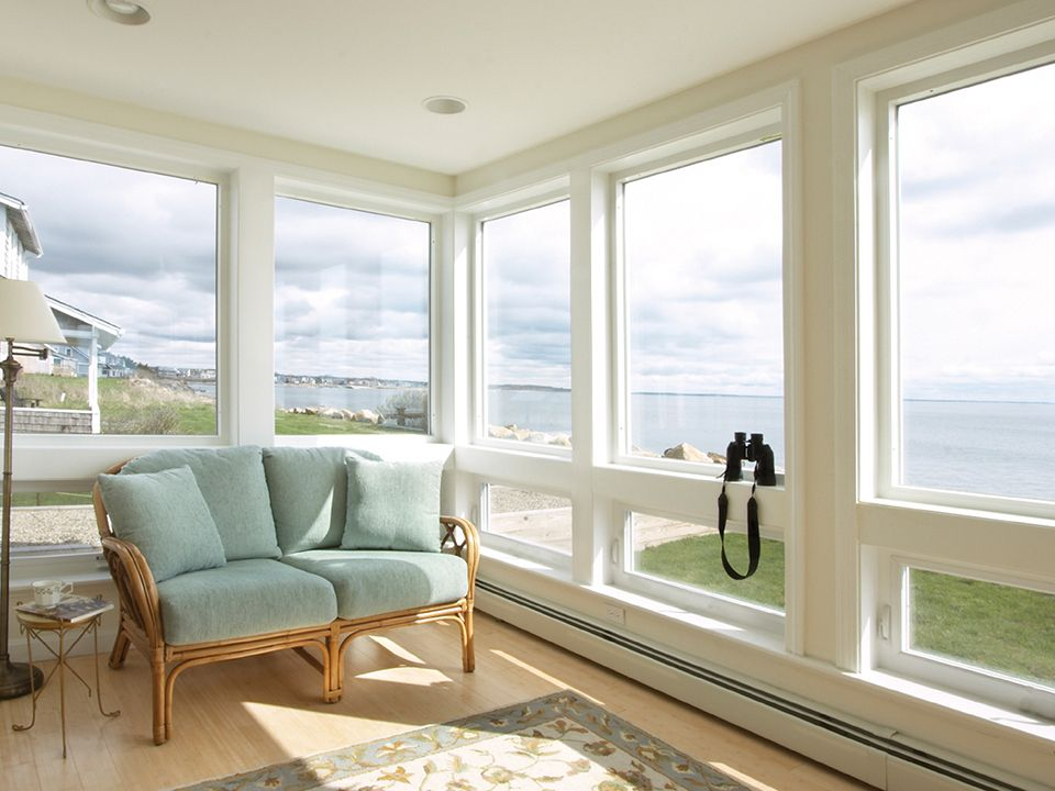 A Simple Sunroom Takes Full Advantage Of The View With