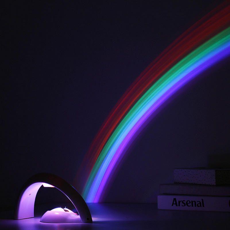 Us 16 03 Amazing Colorful Led Rainbow Light Baby Kids Children