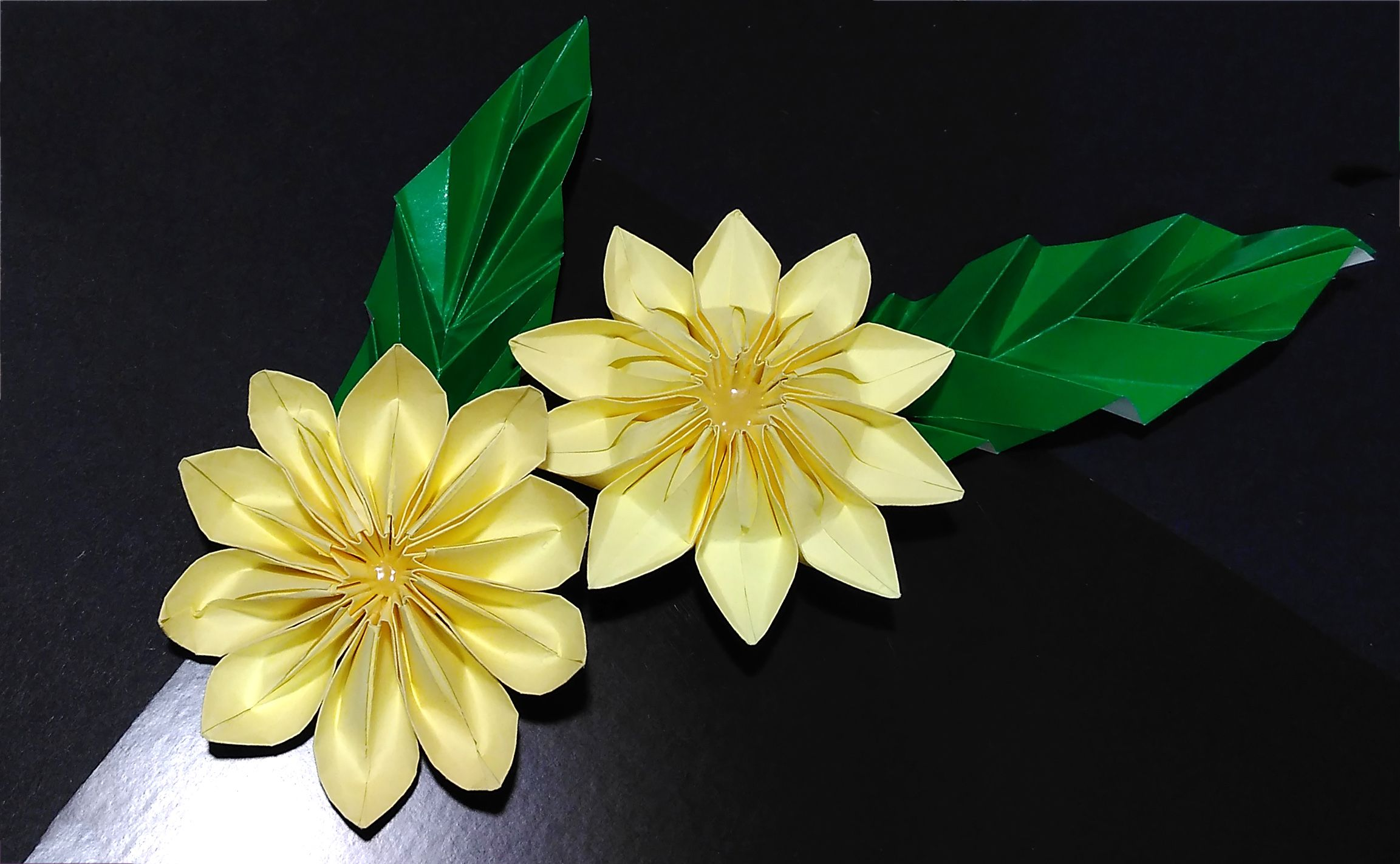 Gorgeous Origami Flowers 3d Origami Httpsyoutubewatch