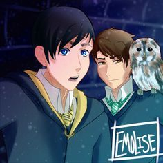 Image result for phan harry potter au | Dan and Phil ...