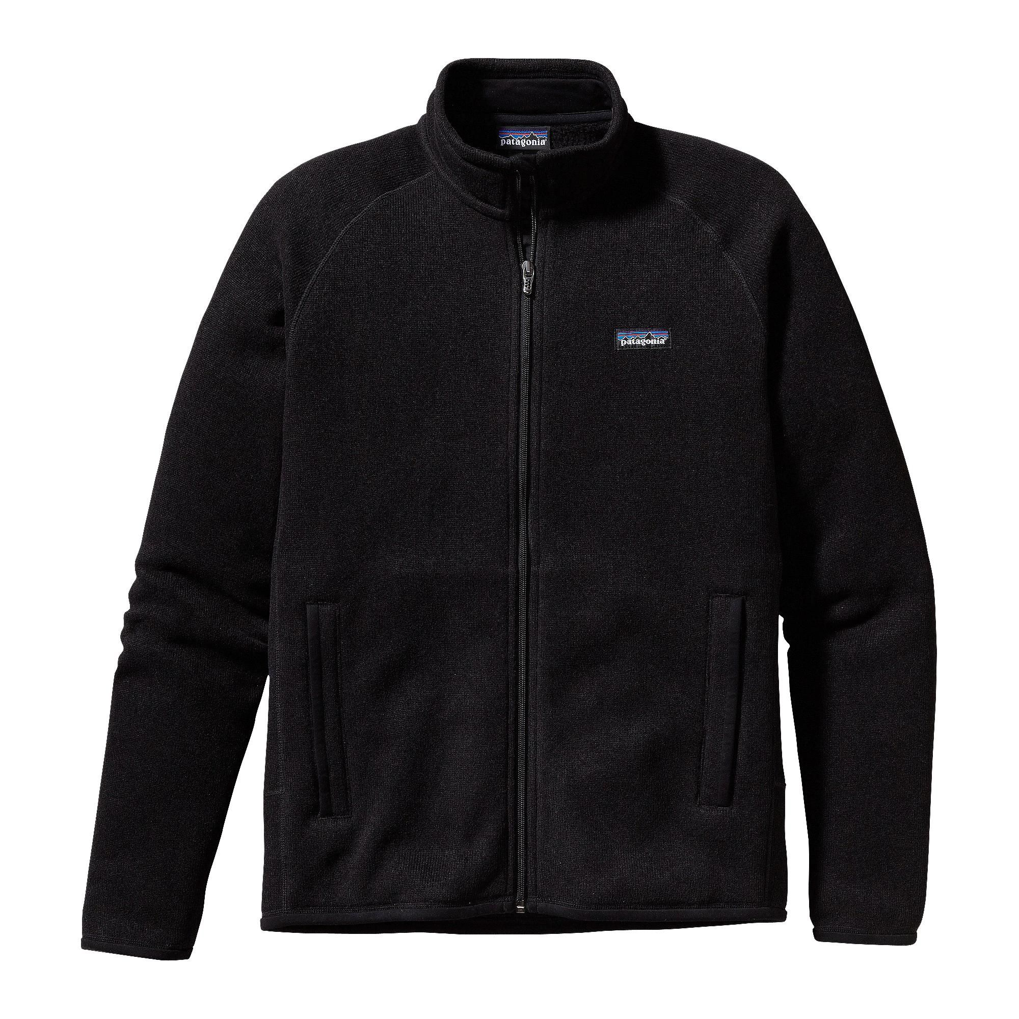Patagonia Men's Better Sweater Jacket - A soft, full-zip polyester fleece  jacket that