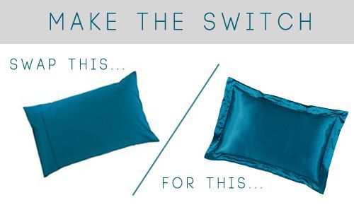Satin Pillowcase For Curly Hair Inspiration Sleep On A Satin Pillowcase To Reduce Breakage And Frizz Tgin