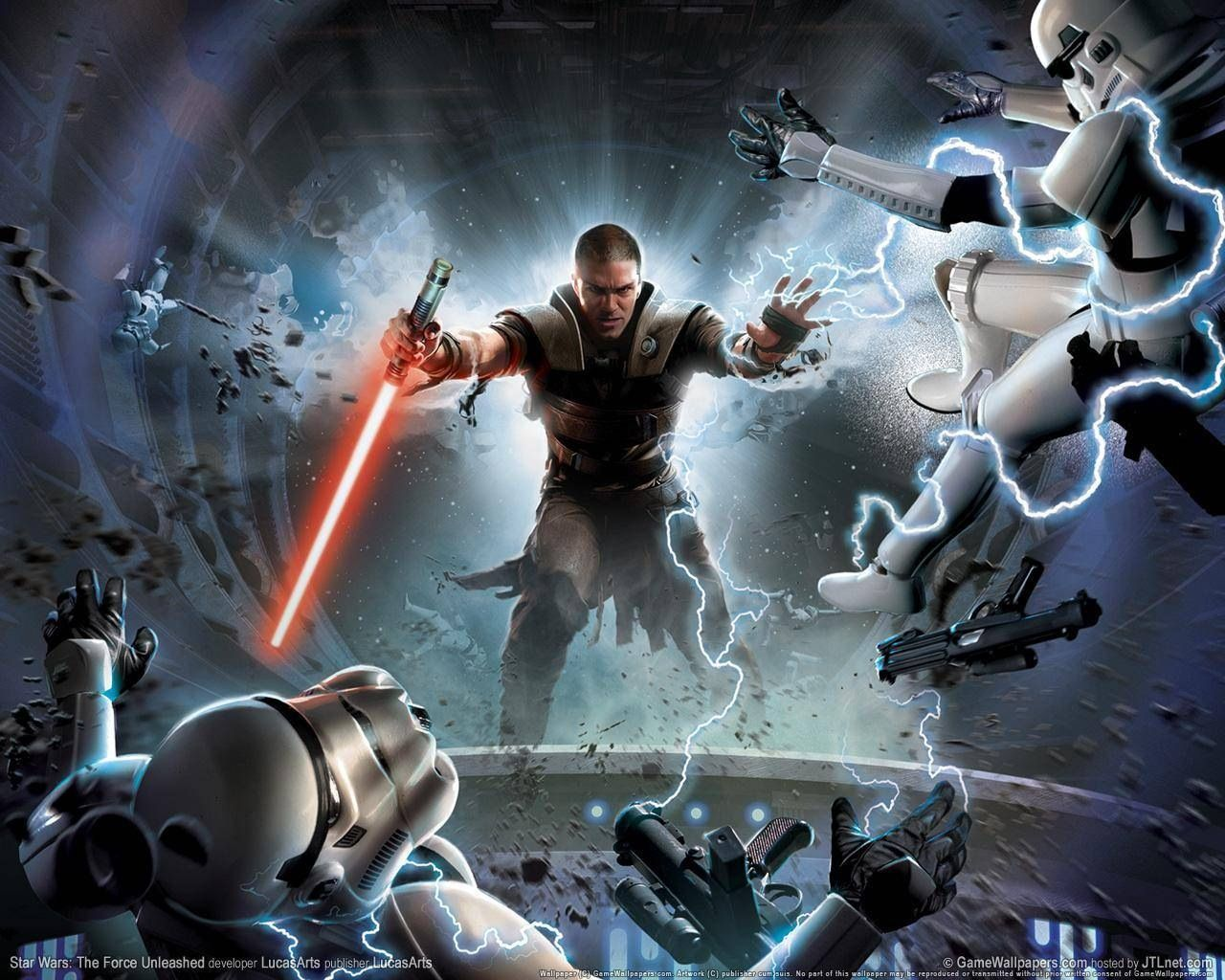 Star Wars The Force Unleased Star Wars Games Star Wars Background Star Wars Video Games
