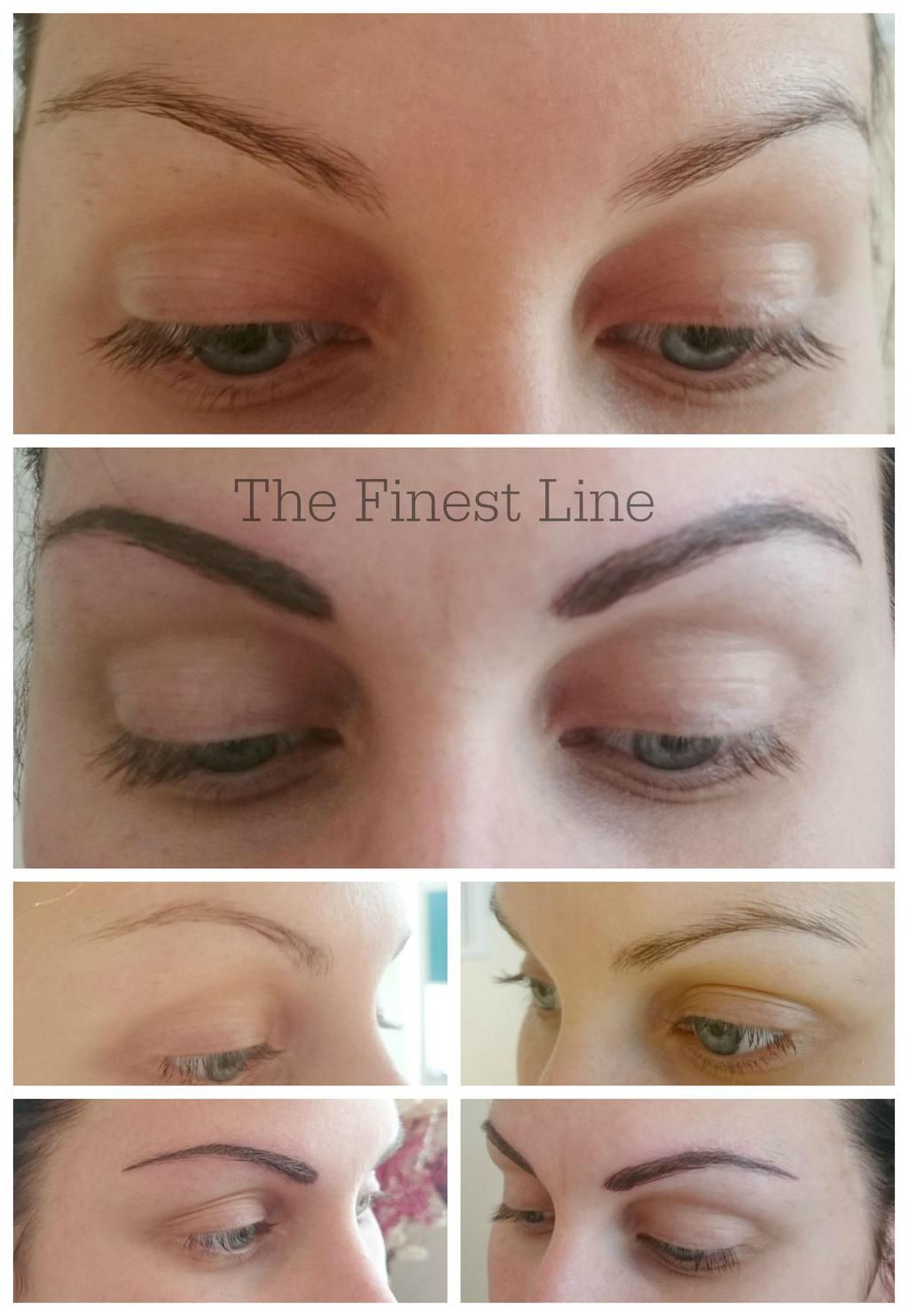Lisa thomas on cosmetic tattoo semi permanent makeup for Powder eyebrow tattoo