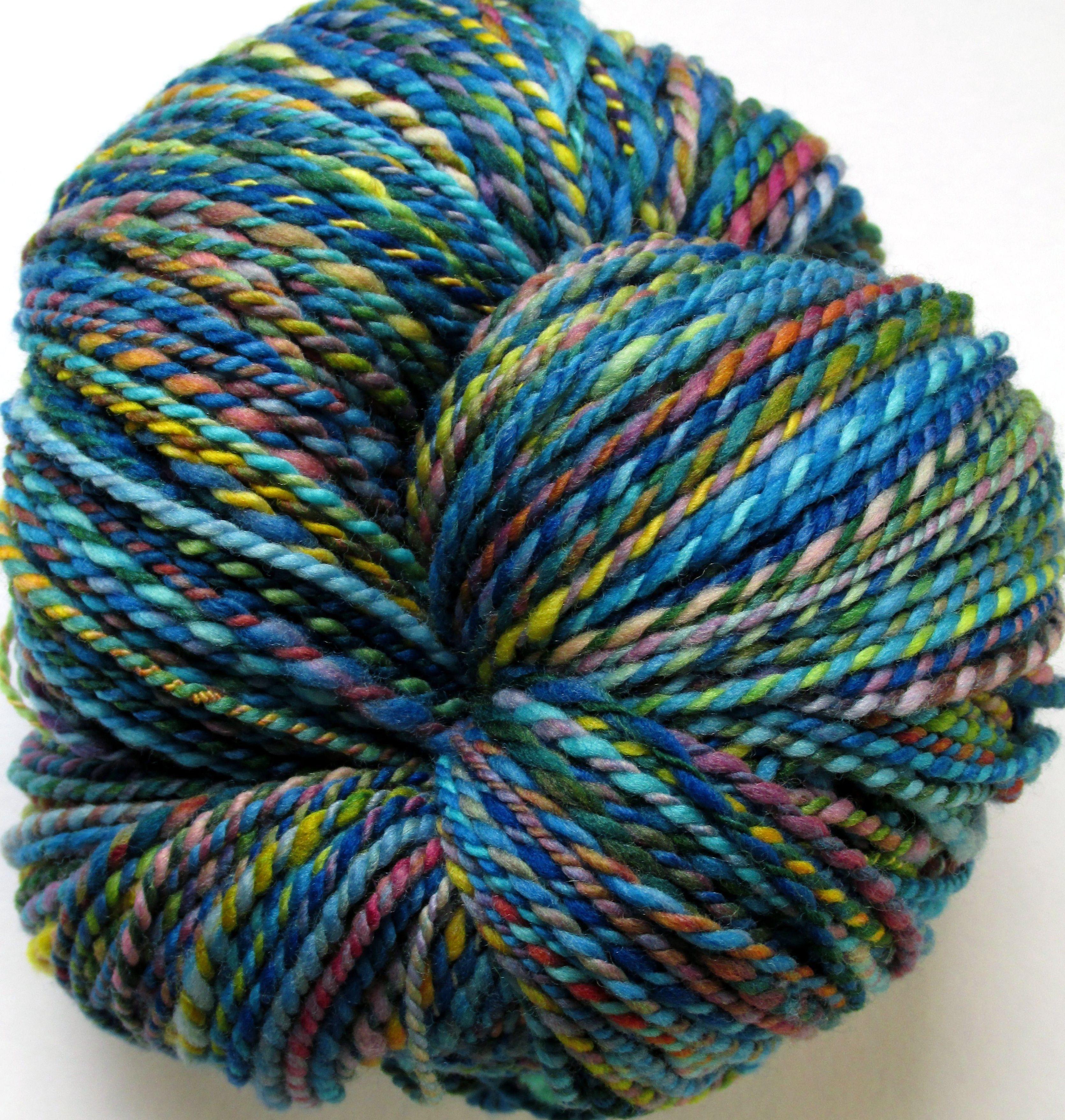 Salamander Soup Hand dyed yarn, Hand