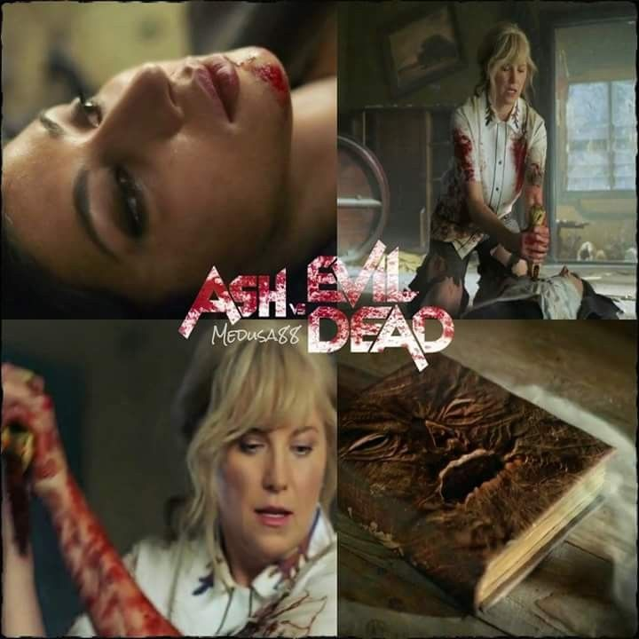6c3c52cc65b Kelly vs. Ruby Ash vs Evil Dead season 3 episode 6  Tales from the Rift   Lucy Lawless Dana DeLorenzo