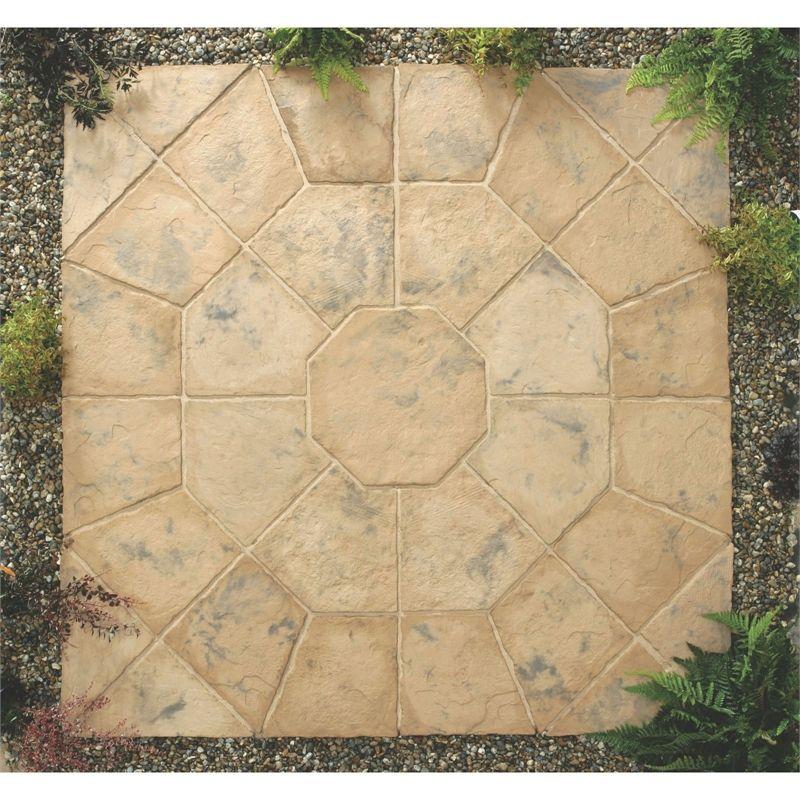 Stylish Stone Belfrey Octagon Kit 2.3m Autumn Brown in