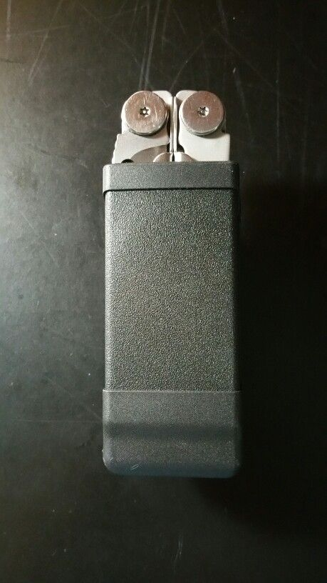 Leatherman Wave And Blackhawk Single Stack Mag Pouch Fit Perfectly Custom Blackhawk Single Stack Magazine Holder