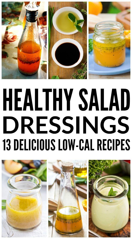 Healthy Salad Dressing 13 Delicious Low Calorie Recipes -2498