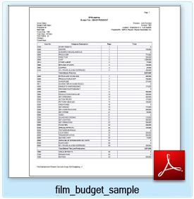 Custom Film Budgets Tailored From Your Actual Script. Movie Logistics And Film  Budgeting Only 30 Years Experience Can Provide