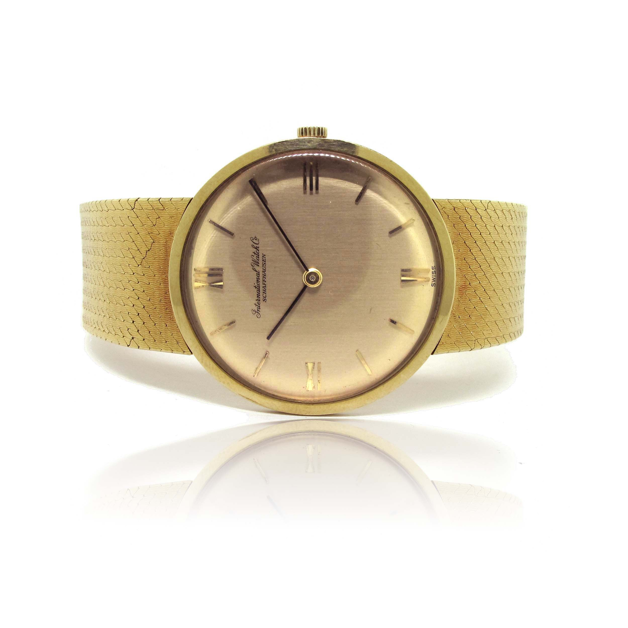 International Watch Company Vintage Ultra-Thin Watch sold at Francis Jewellers in Victoria BC