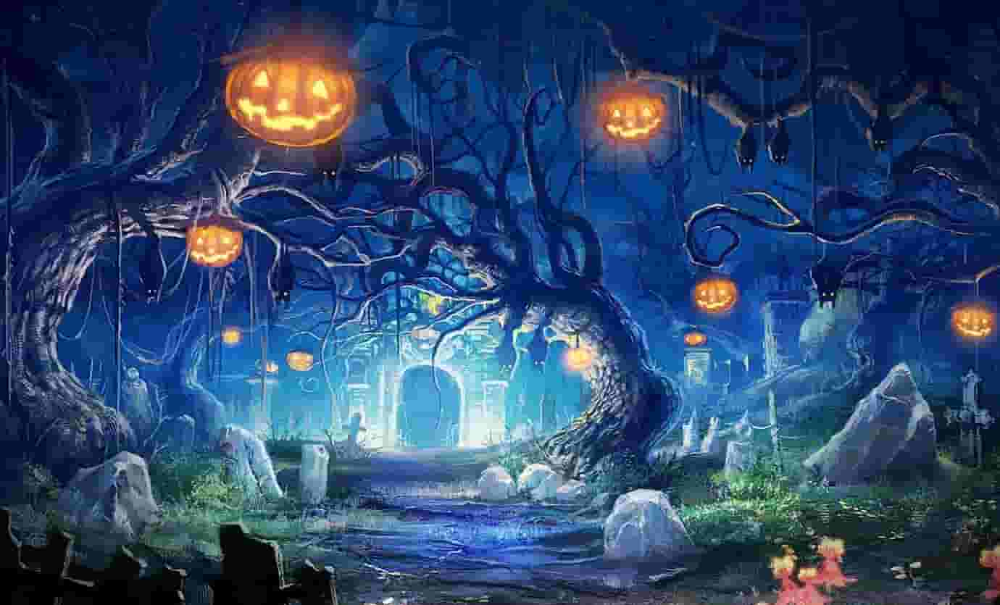 Halloween Horror Theme For Windows 10 Free Download 2020 Secured You In 2020 Scary Wallpaper Halloween Wallpaper Pumpkin Photography