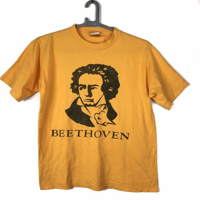 c086a87a Excited to share this item from my #etsy shop: Vintage Bathing Ape first  edition beethoven 1993 t shirt L size