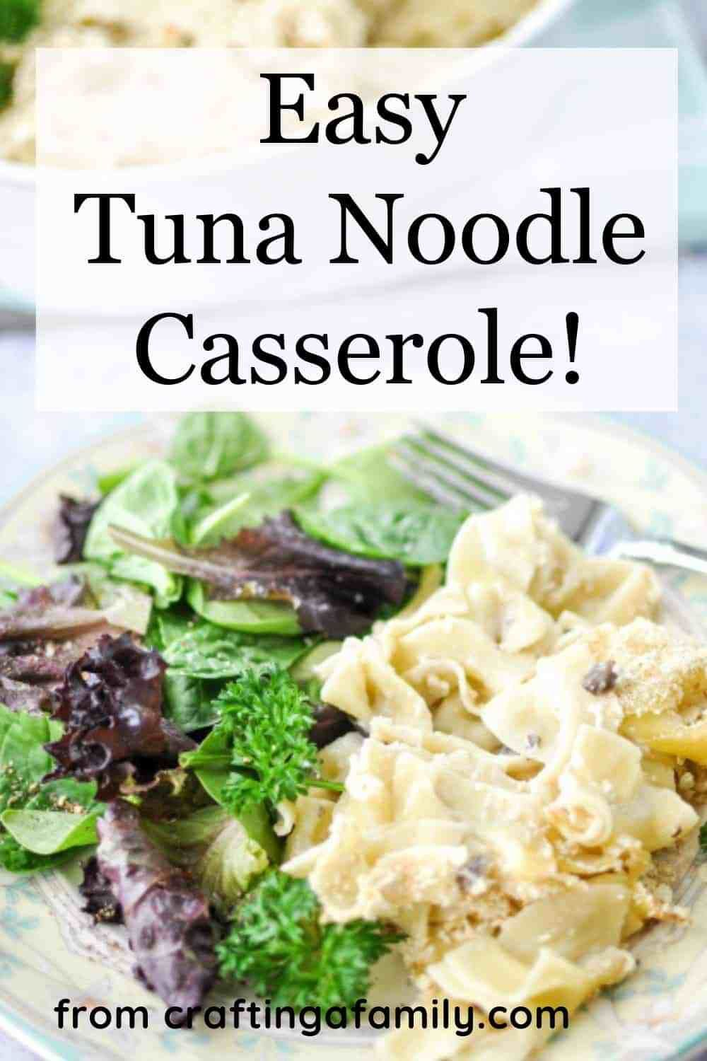 tuna noodle casserole is not only a quick  easy dinner it
