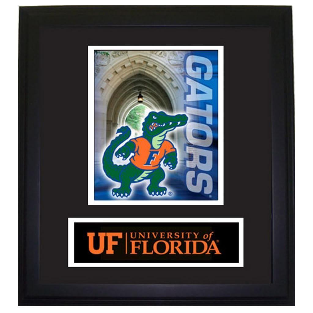 Florida Gators Wood Wall Hanging Framed Logo | Products | Pinterest ...