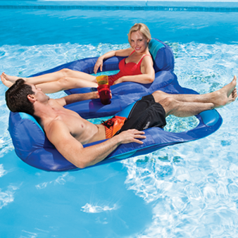Spring Float Recliner Duet - The SwimWays Spring Float Recliner Duet luxury pool float combines all the comfort of the Sp. & Spring Float Recliner Duet - $99.95. Float along with your ... islam-shia.org