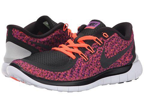 6b67555381c2 Nike Free 5.0 Print Vivid Purple Hyper Orange White Black - Zappos.com Free  Shipping BOTH Ways