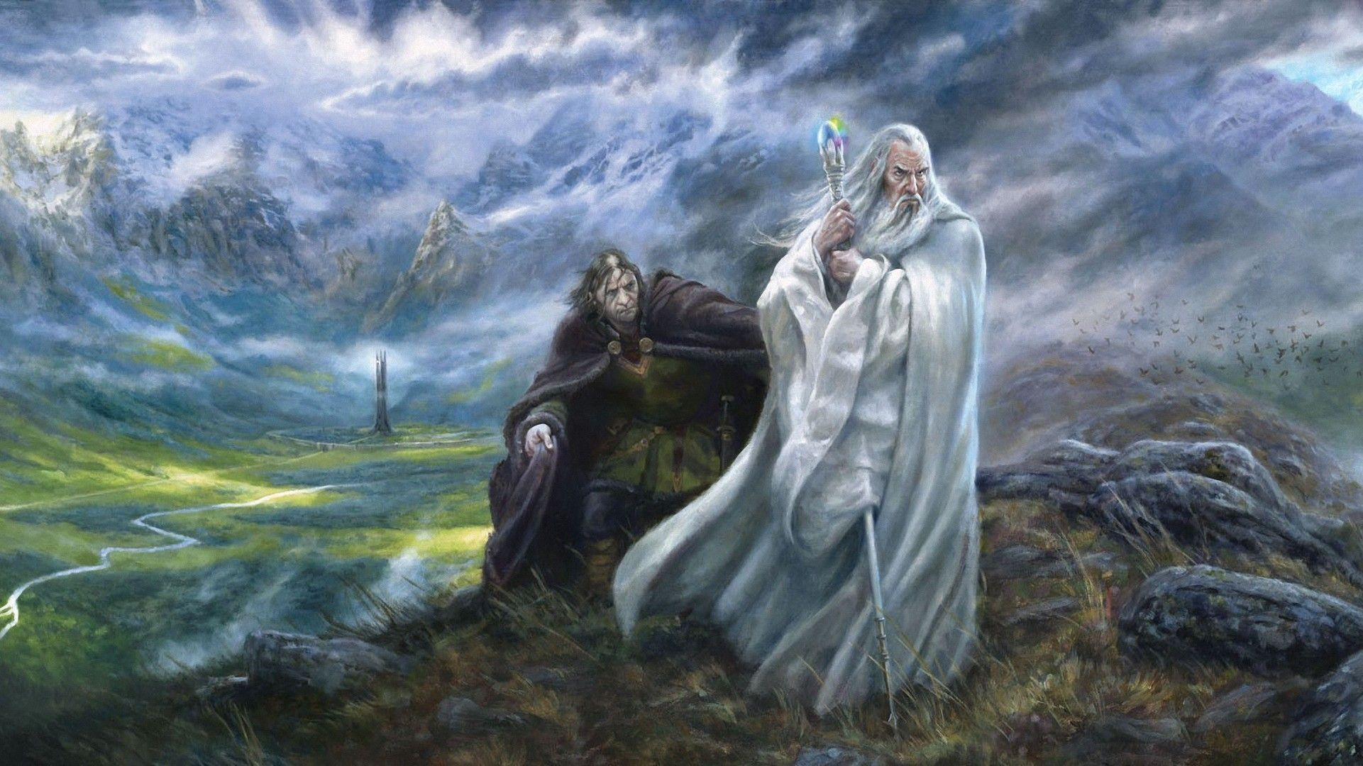 Movie The Lord Of The Rings Saruman LOTR Wallpaper