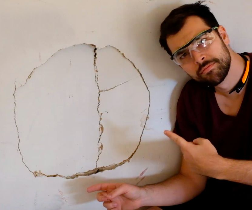 How to Patch Large Holes in Drywall | DIY PROJECTS | Diy