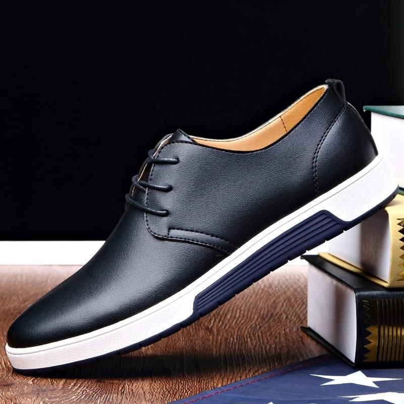 NXY Mens Casual Busness Tide Leather Classic Oxford Shoes  N5R0SMP0E