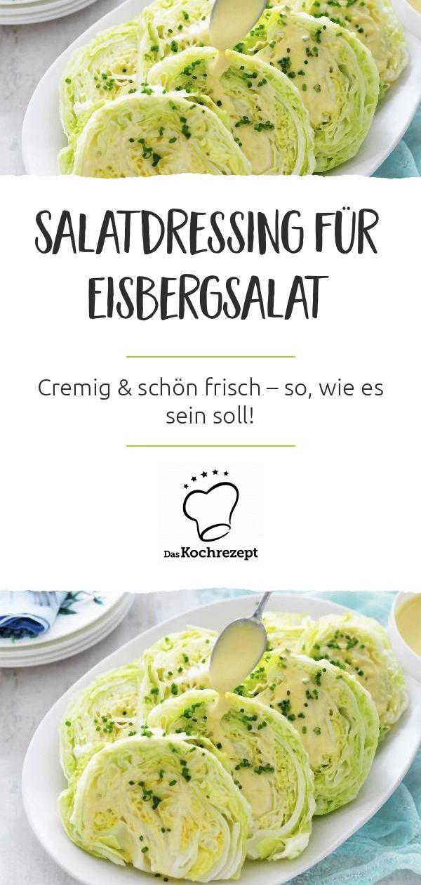 Salatdressing für Eisbergsalat #wohnwagen