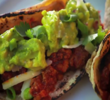 Southwest Chili Tacos.  Healthy and looks delicious!