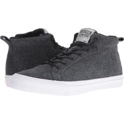1441649fadd4 Converse - All Star Wooly Bully Fulton Mid (Black Black White) Men s Shoes