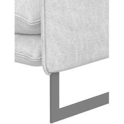 Photo of Stylefy Ezio home decor Missouri white leather