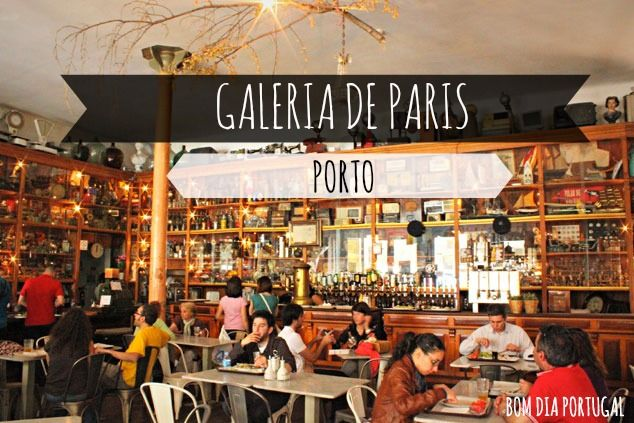 galeria de paris porto restaurant atypique et pas cher porto and portugal. Black Bedroom Furniture Sets. Home Design Ideas