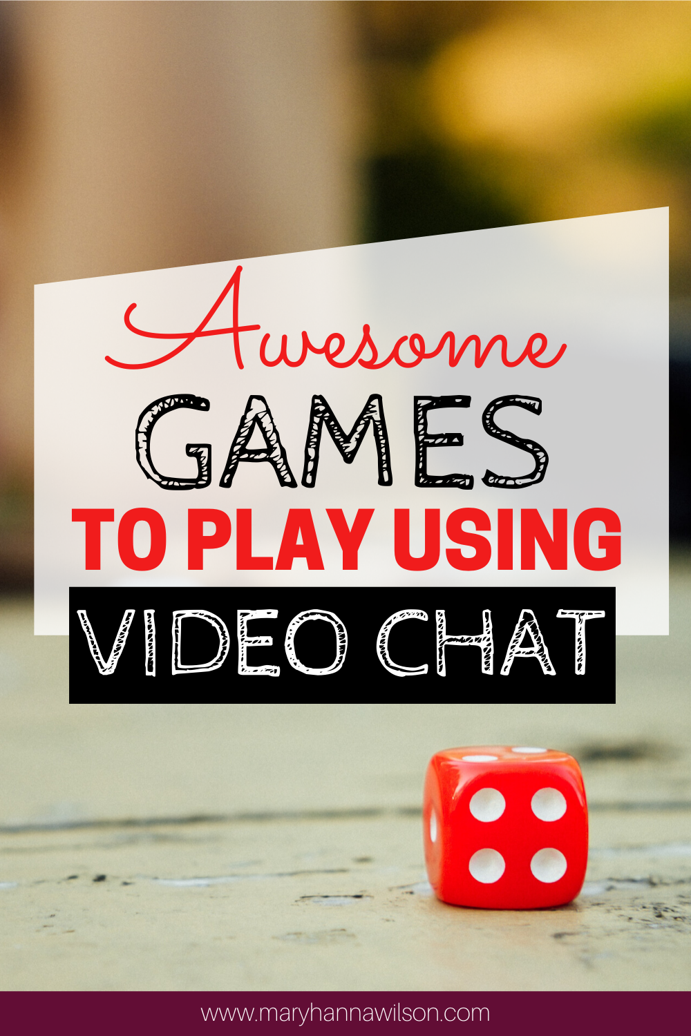 Games to Play on Video Chat in 2020 Online games for