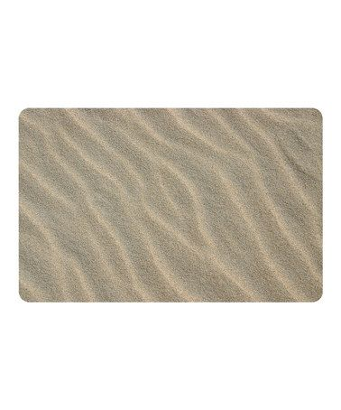 Loving this Faux Sand Mat on #zulily! #zulilyfinds