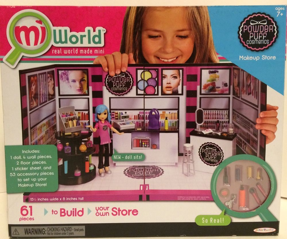 Mi World 4 Collector Pack Style Boutique Accessory Set Bag BRAND NEW