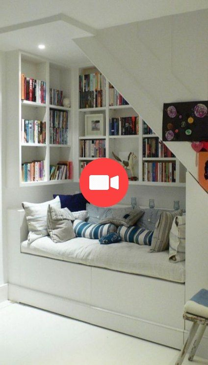 Home Library Loft: 29 New Ideas For Home Library Loft Attic Rooms #atticideas
