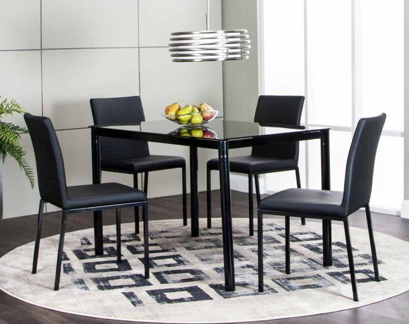 Zeta 5 Piece Dinette Set Superb American Freight Dining Roo With