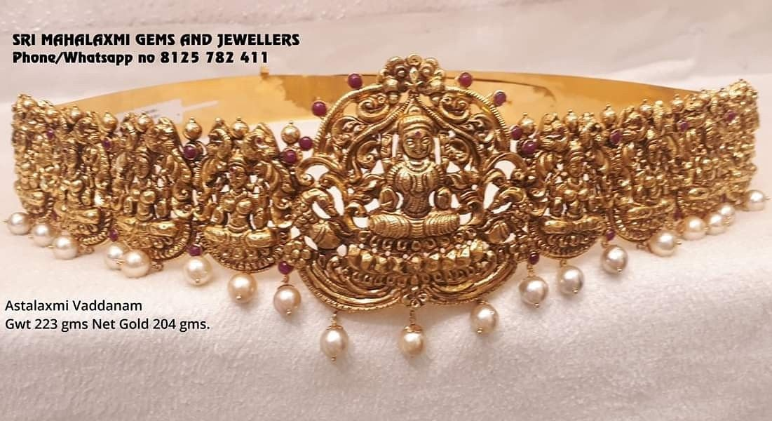 Get 2 Additional On Full Ranhe Of Vaddanam For Festival Season Present Ing Here Is 223 Gm Astalakshmi Please Visit Us Variety