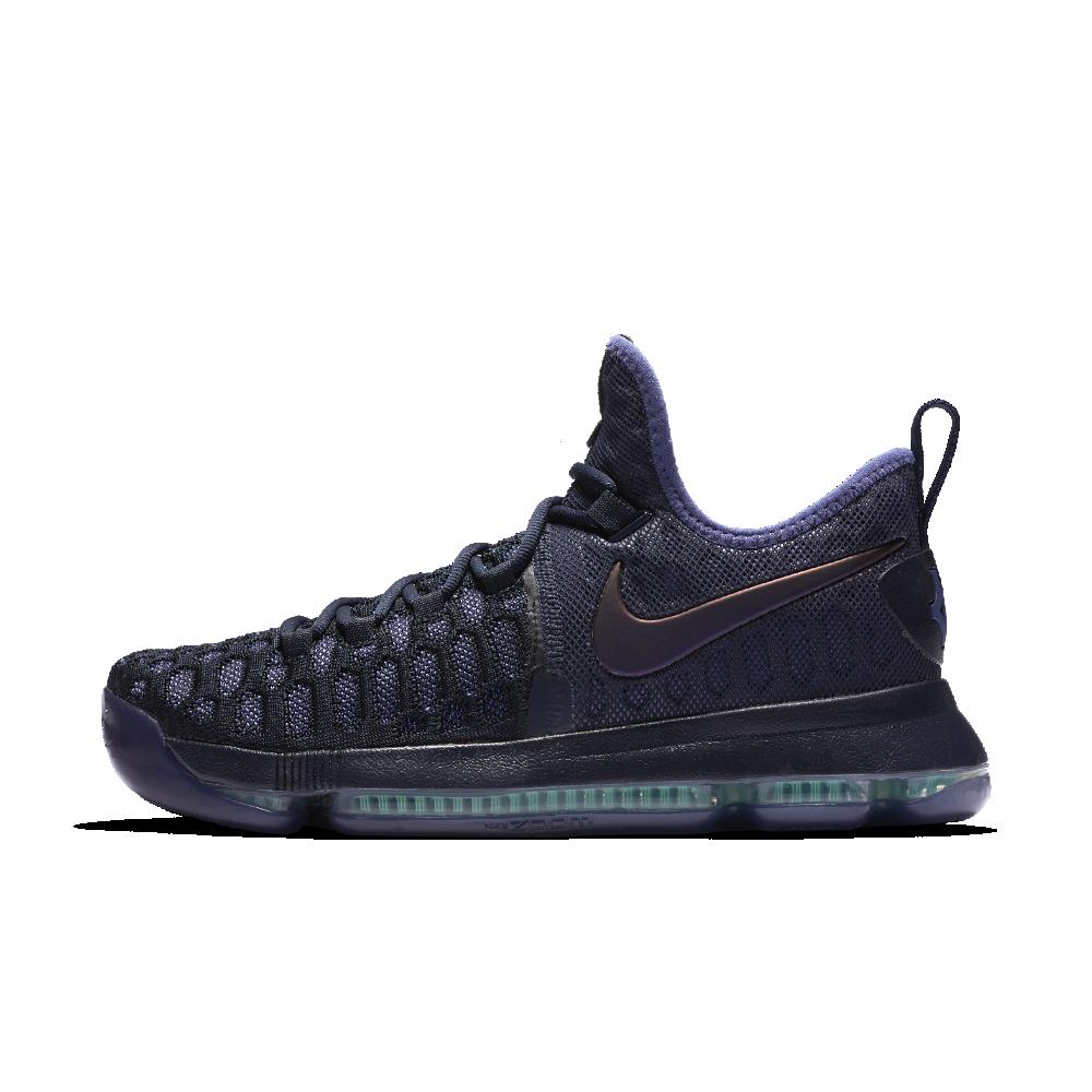 02e1d82f15df Nike Zoom KD 9 Men s Basketball Shoe Size 13.5 (Blue) - Clearance Sale