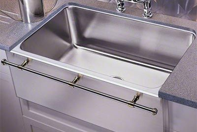 Just Mfg Stainless Steel A Front Single Bowl Undermount Kitchen Sink With Optional Towel Bar