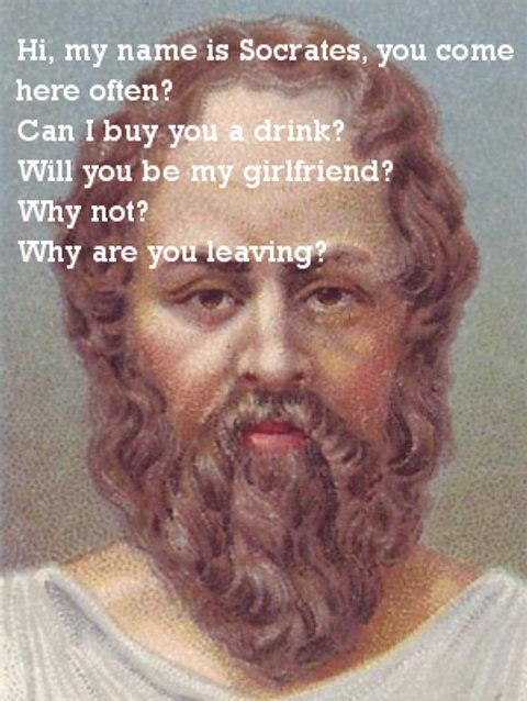 Sadly, the Socratic method is not great at picking up ...