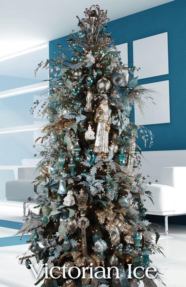 Tendencias para decorar tu arbol de navidad 2016 2017estas - Como decorar un arbol de navidad ...